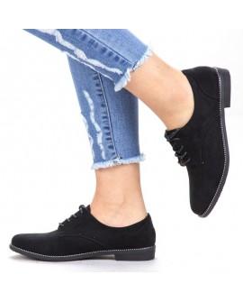 Pantofi Casual Dama Jackie  - Negri