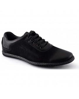 Pantofi Casual Bărbați Negri