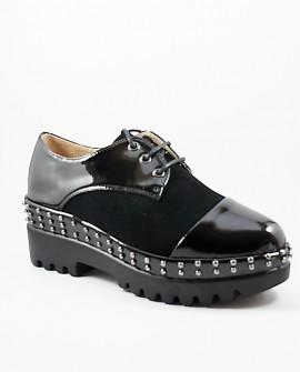 Pantofi Casual Dama Allena - Negri