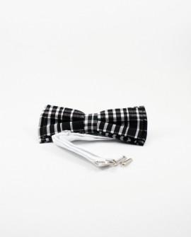 Papion Barbati - Carouri Mari alb-negru Ajustabil