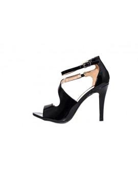 Sandale cu Toc Dama Skyler - Negre