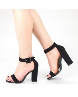 Sandale Dama cu Toc ''Euridice'' - Negre