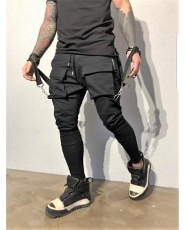 Pantaloni Trening Casual Barbati - Negri