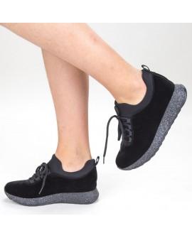 Pantofi Sport Dama ''Galateea'' - Negri