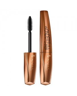 Mascara Rimmel London Wonder'Full cu ulei de argan 001 Black, 11 ml