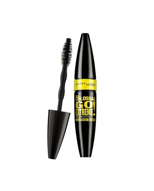 Mascara Maybelline New York Volum' Express The Colossal Go Extreme Leather Black, 9.5 ml