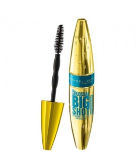 Mascara Maybelline New York Volum' Express The Colossal Big Shot Black Waterproof, 9.5 ml