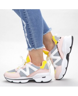Pantofi Sport Dama Isra  - Multicolor
