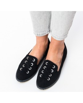 Pantofi Casual Dama Janette - Negri