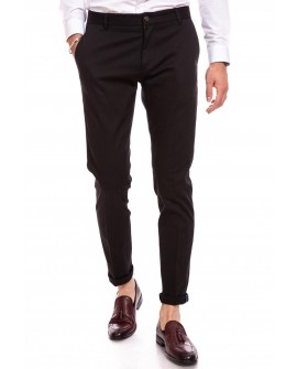 Pantaloni Office Slim Fit Barbati - Negri