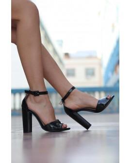 Sandale cu Toc Xakaky - Negre