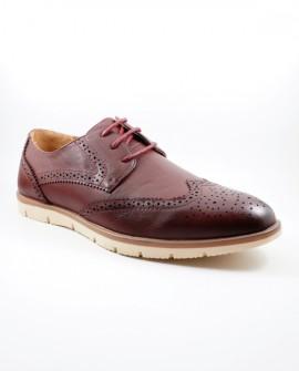 Pantofi Barbati Abbott - Bordo
